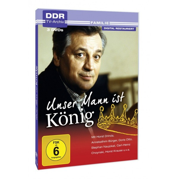 Unser Mann ist König - 3 DVDs