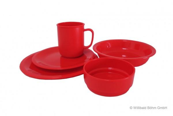 Geschirr-Set, 5-teilig, Sonderfarbe