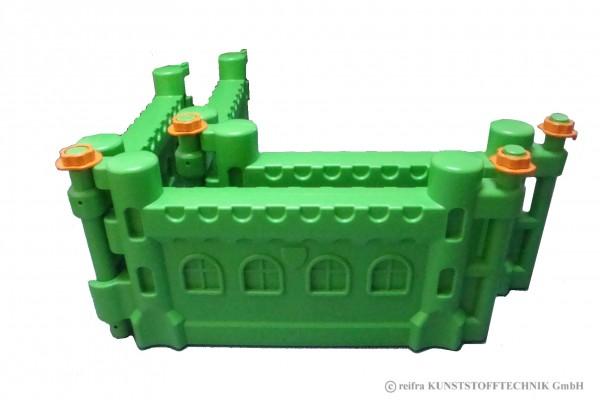 Ergänzungsset für Spieleburg, grün