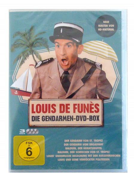 Louis de Funes: Die Gendarmen-DVD-Box