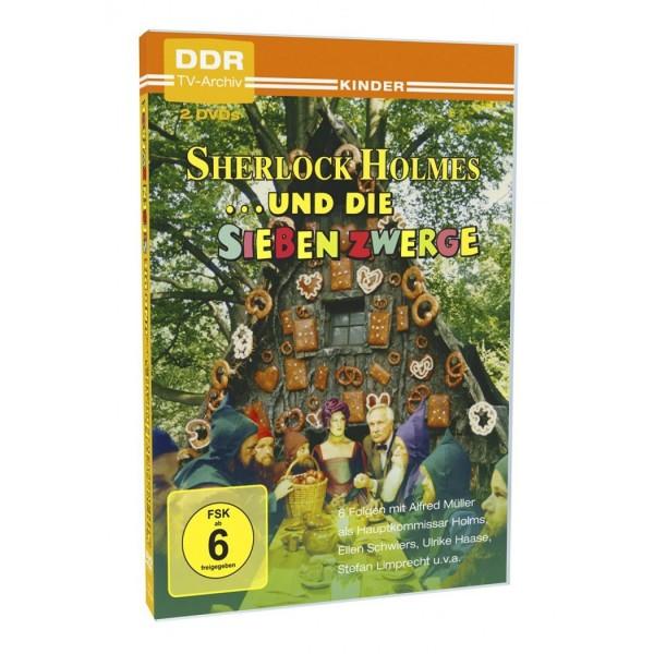DVD Sherlock Holmes und die sieben Zwerge - 2 DVDs