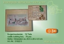 Burgenbaukasten 76 Teile