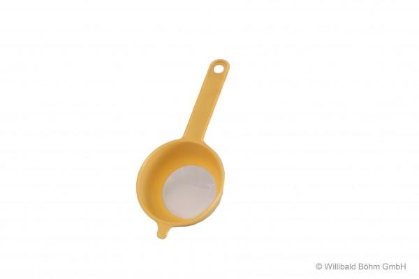 Teesieb, 6 cm, pastell-gelb