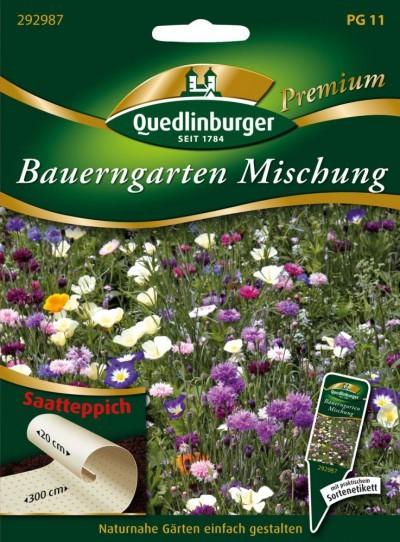 Bauerngarten - Mischung von Quedlinburger Saatgut