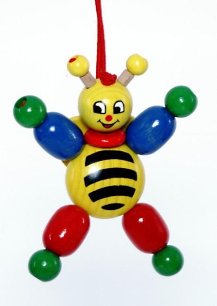 Biene mit Clips