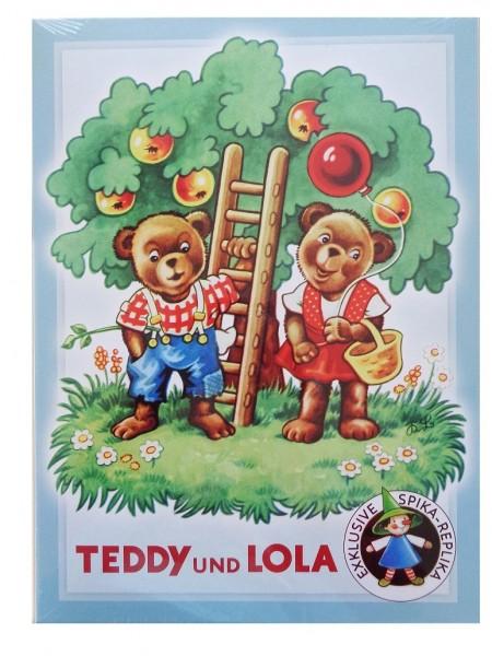 Würfelspiel - TEDDY und LOLA