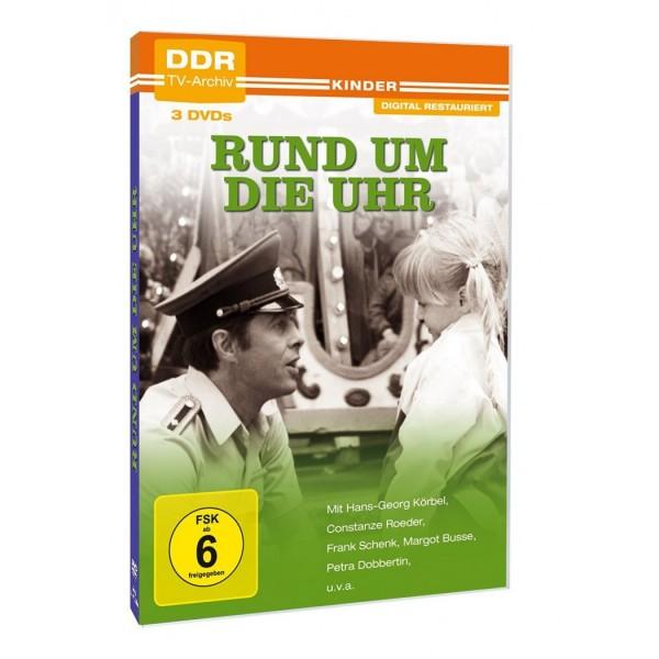 Rund um die Uhr - 3 DVDs
