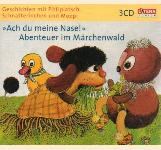 Pittiplatsch 1 - 3, 3CDs