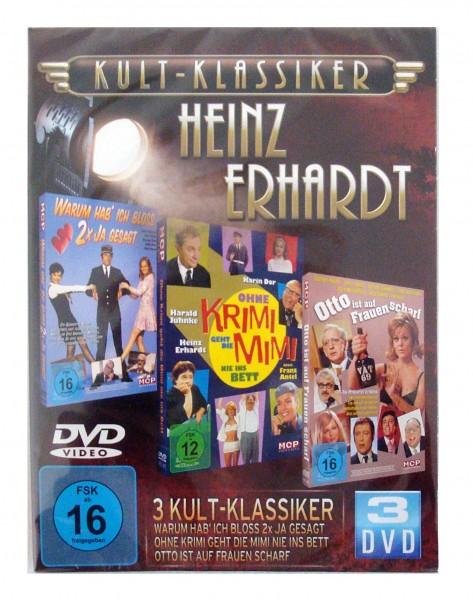 Heinz Erhardt -- Kult-Klassiker  (3 DvD´s)