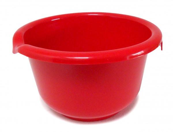 Rührschüssel 2,5 Liter, rot