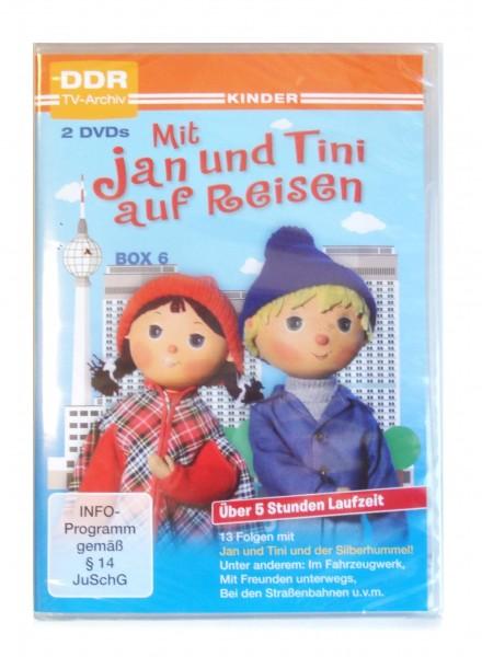Mit Jan und Tini auf Reisen - Box 6 DVD