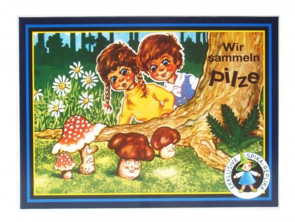 Würfelspiel -  Wir sammeln Pilze