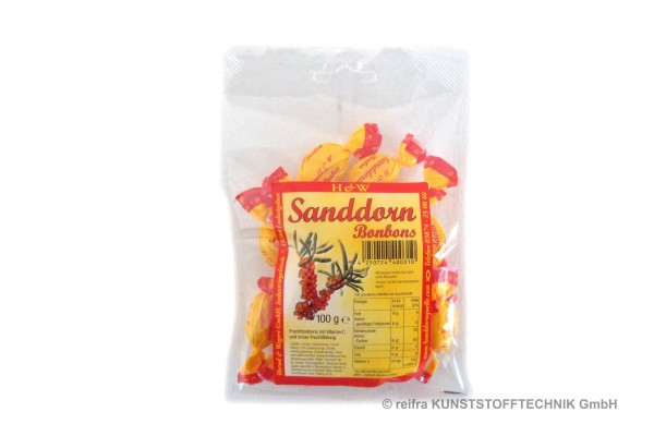 Sanddorn - Bonbons  100 g