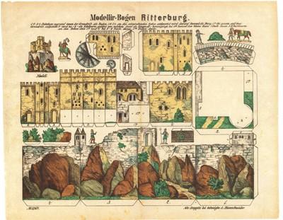Ausschneidebogen Ritterburg