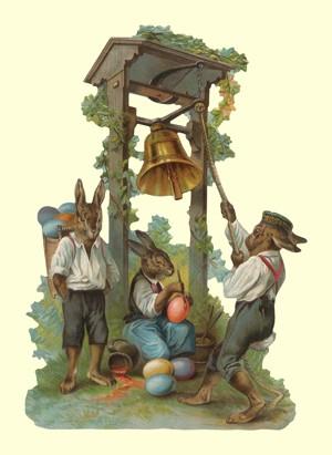 Aufstellschmuckkarte Ostern