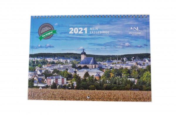 Freizeitplaner/Kalender für das Erzgebirge 2021