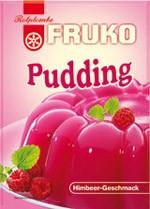 Fruko-Pudding Himbeer 40g
