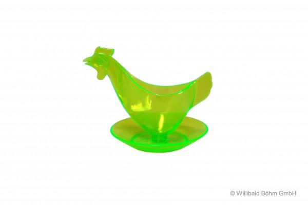"Eierbecher ""Huhn"" leuchtgrün"