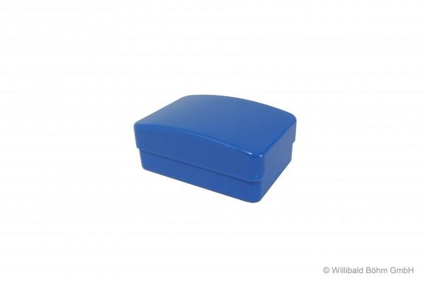 Seifendose, groß, mit Einsatz, pastell-blau
