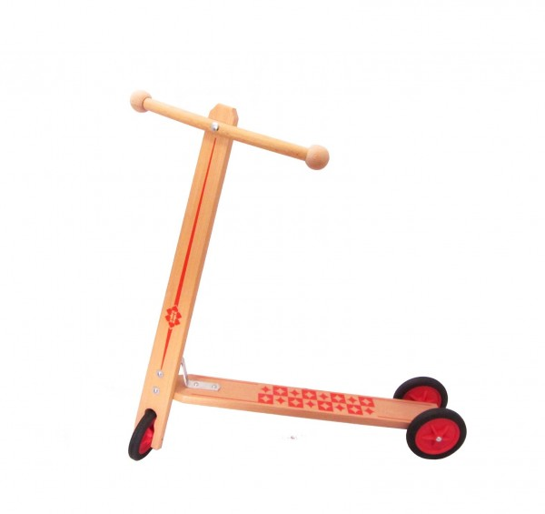 """Roller """"Peter""""mit drei Kunststoffrädern, Siebdru"""