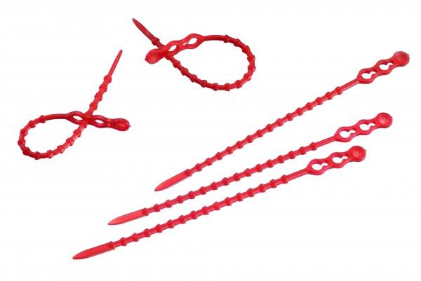 50 Blitzbinder rot, 12 cm
