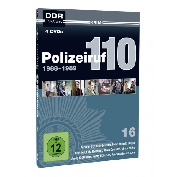Polizeiruf 110, Box 16 1988 - 1989