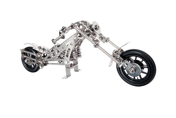 metallbaukasten motorrad chopper metallbauk sten reifra. Black Bedroom Furniture Sets. Home Design Ideas