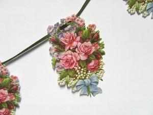 Große Girlanden Rosen in pink