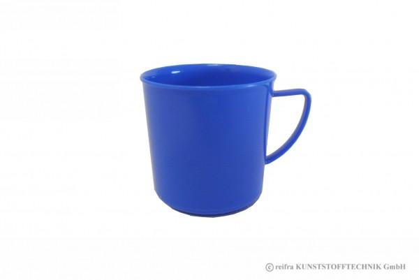 Henkelbecher, blau