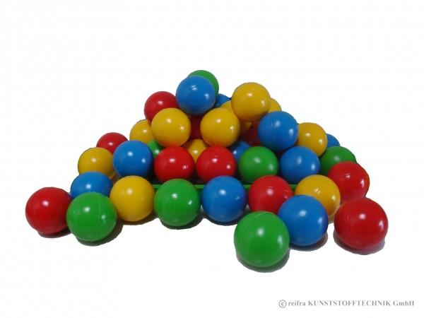 Sortiment Bälle, 30 Stück in 4 Farben