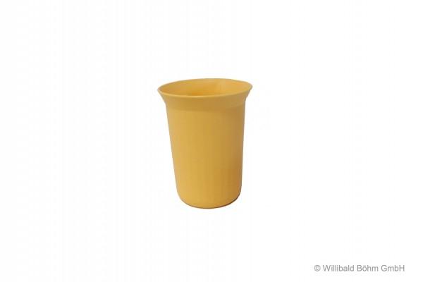 Trinkbecher, 0,25 l, pastell-gelb