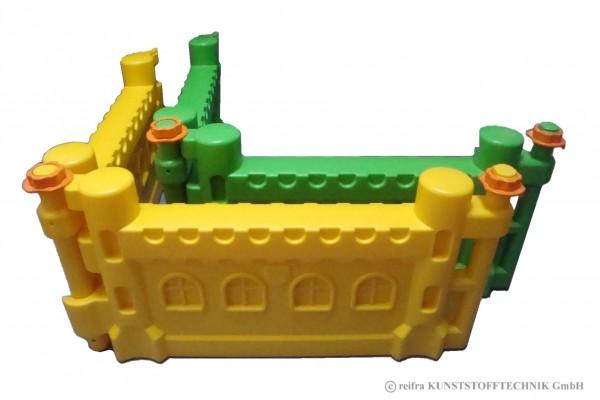 Ergänzung Spielburg, gelb/grün