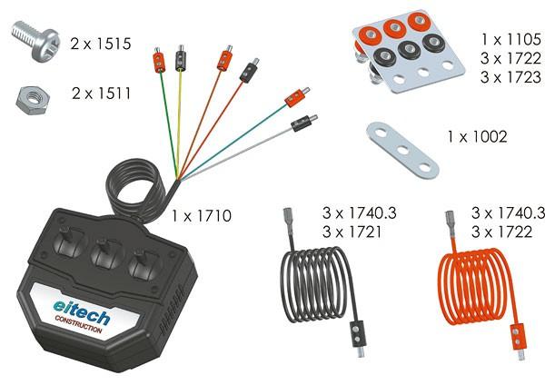 Kabelsteuerung - 3 Kanal