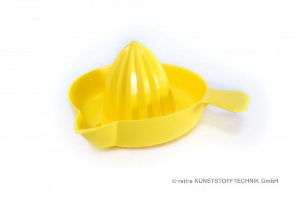 Zitronenpresse klein, gelb