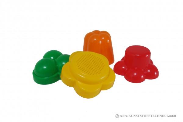 Förmchenset Sandspielzeug 4-teilig
