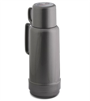 Isolierflasche 80,  1,0 L, silver light