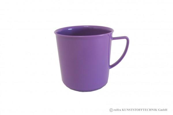 Henkelbecher, violett