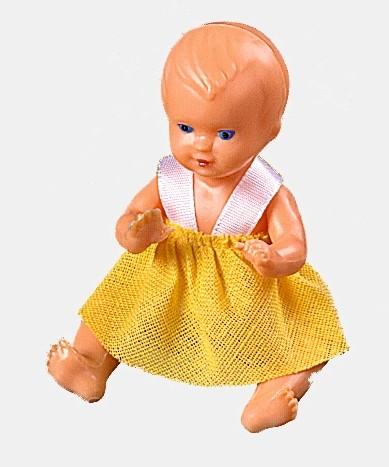 Plastik-Puppe, 8 cm