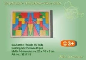 Baukasten Piccolo 46 T.farbig