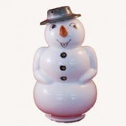 Räucher Schneemann mit Hut