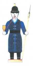 Bastelsatz Rauchmann Feuerwehrmann