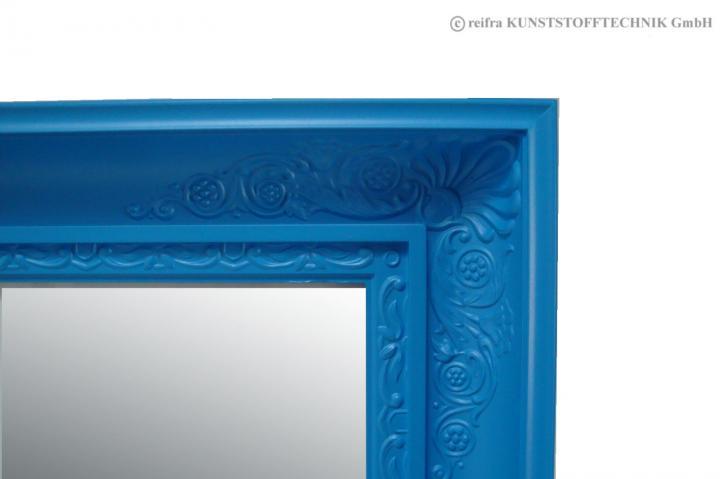 spiegel schlicht blau dekorationsartikel aus holz online shop reifra kunststofftechnik gmbh. Black Bedroom Furniture Sets. Home Design Ideas